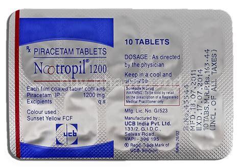 Piracetam 1200 Strippp Nootropil Piracetam Buy Nootropil Piracetam