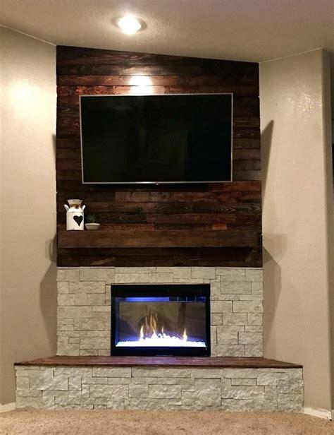 Corner Fireplace Remodel Corner Stone Fireplace Ideas