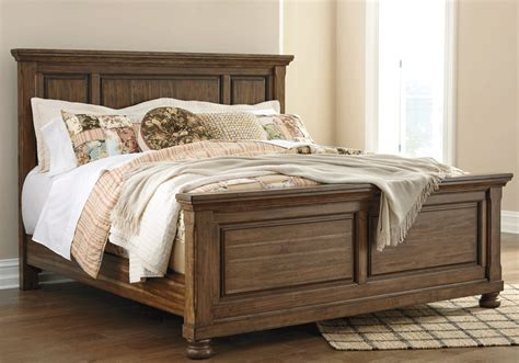 Bedroom Furniture Overstock Flynnter King Panel Bedroom Set Evansville Overstock Warehouse