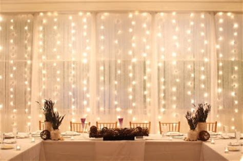 lights behind sheer curtain white wire curtain lights for weddings back in stock