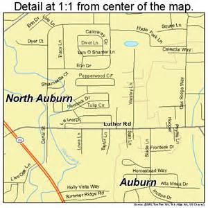 map of auburn california auburn california map 0651637