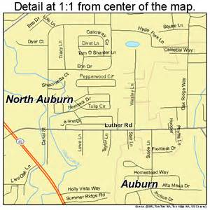 auburn california map 0651637
