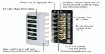marine fuse block 6 circuit 12v 34 26 zen cart the of e commerce