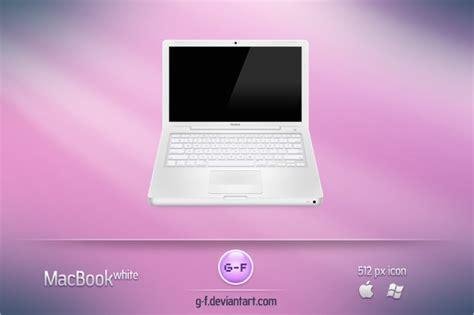 Macbook White 4 1 macbook white by g f on deviantart