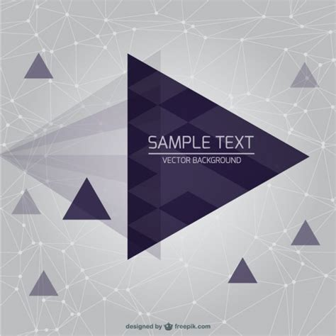triangle background vector download free vector triangle wireframe background vector free
