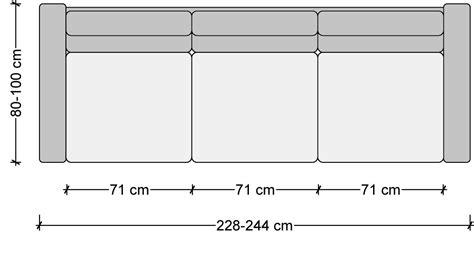 seater sofa dimensions  meters  view