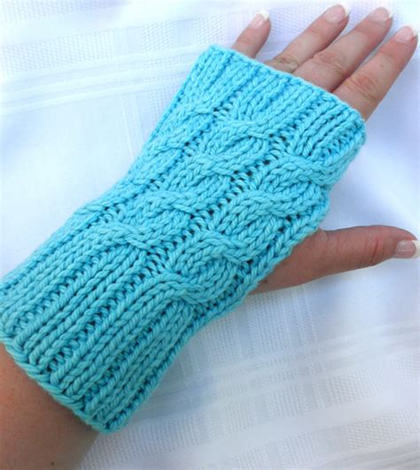 knitting pattern hand warmers easy mitts knit flat knitting patterns in the loop knitting