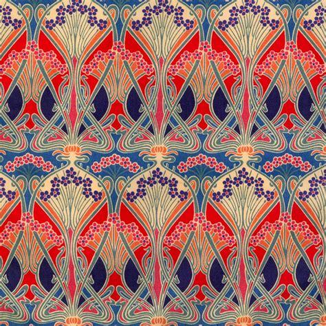 liberty of london upholstery fabric art nouveau style ufansius ianthe fabric pattern
