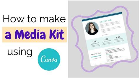 canva media kit how to make a media kit using canva archives mamafurfur