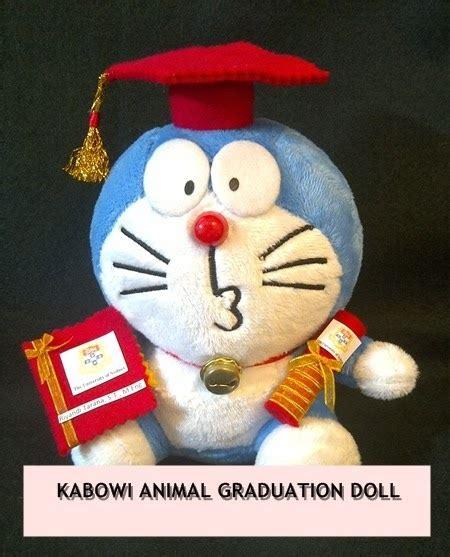Boneka Wisuda Ku kado wisuda hadiah animasi unik boneka jual flanel
