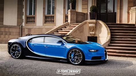 Bugatti Chiron Four Door Rendered As The Sedan Bugatti Ceo