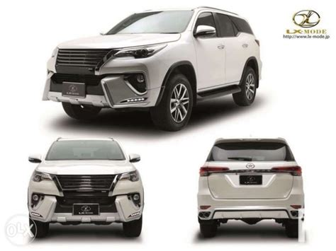 Kit Toyota Fortuner Ativus 2016 toyota fortuner plastic bodykit thailand made kit abs material for sale in quezon city