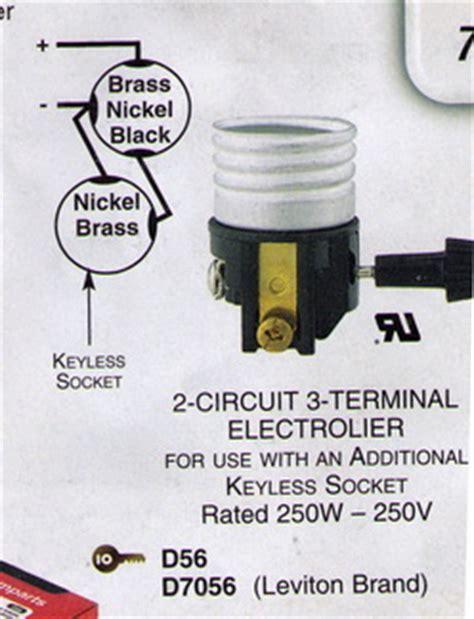 3 terminal 2 circuit l socket sockets for l repair or building ls