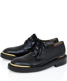 Fraser Oxfords Black White Sepatu Wanita Loafers chaussures 224 lacets marni marni femme thecorner les jolies choses shoes