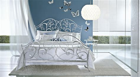 silver beds ciacci papillon bed in silver leaf uber cool designer