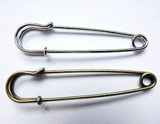 5pcs antique bronze iron kilt pin brooch safety pin with loops finding 70x21mm ebay sewing needles accessories ebay