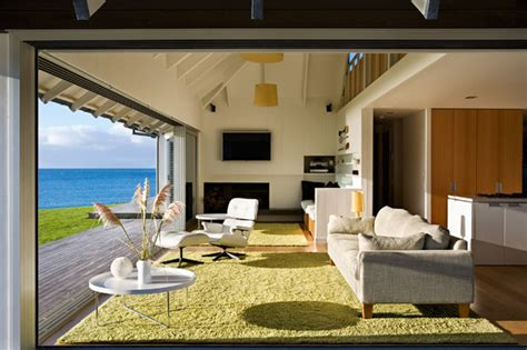 beach home interiors beach house with relaxation outdoor furnitures in