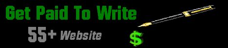 Get Paid To Write - 55 websites that will pay you to write blog blogstash