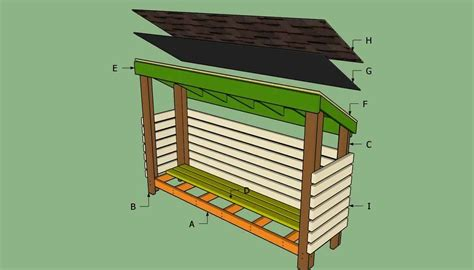 diy outdoor firewood rack ideas  designs   diy