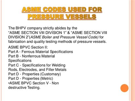 asme bpvc section v fabrication of storage buffer vessel