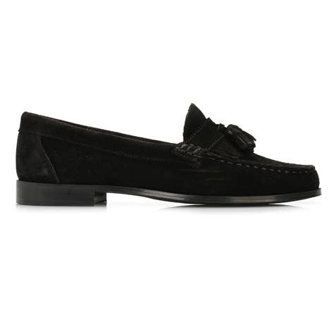 black suede loafers womens tower womens black suede tassel loafers casual