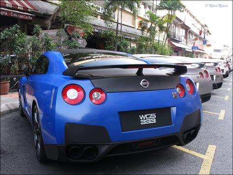 nissan sports car blue gt r nismo nissan r35 tuning supercar coupe cars
