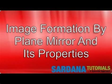 Its A Mirror Its A Tv And Its A Pc image formation by plane mirror and its properties
