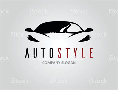 Auto Logo Design Free by Auto Style Car Logo Design With Concept Sports Vehicle