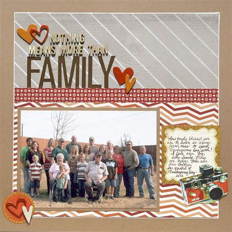 Scrapbooking Is More Popular Than Golf by Nothing Means More Than Family Scrapbook Scrapbook