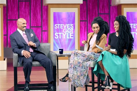 steve harvey daughter jair styles watch the behind the scenes as cipriana tk quann discuss