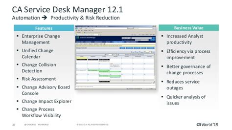 what s new in ca service management