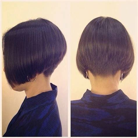 bobbed haircut with shingled npae pictures of stacked haircuts and shingle haircuts
