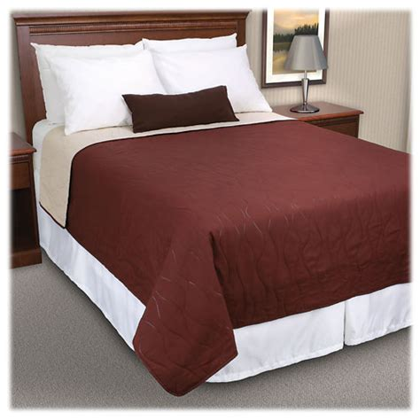 hotel bed coverlets riverdale reversible quilted coverlets hotel bedding