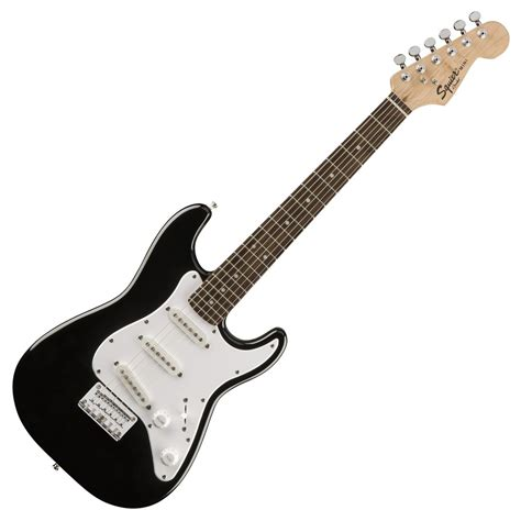 Guitar Black squier by fender mini stratocaster 3 4 size electric