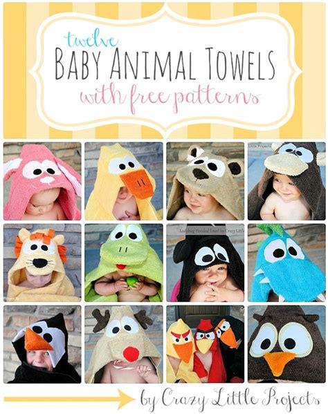 baby crafts diy 12 baby animal towel tutorials u create