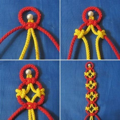 Macrame Knots Tutorial - how to tie pretty knots step by step diy tutorial