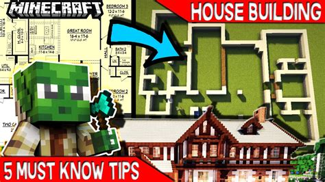 house building tips 100 house tips 5 must know tips for minecraft house