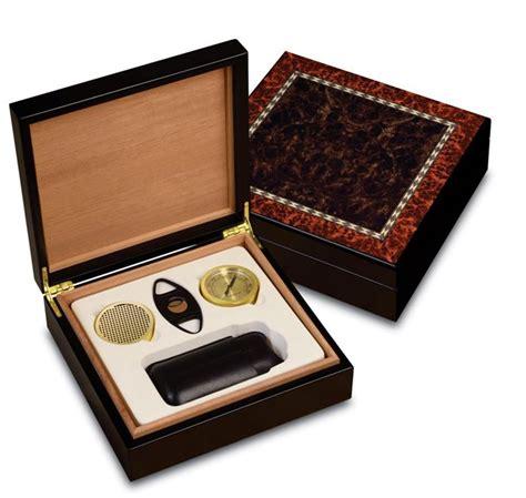 craftsman bench humidors craftsman s bench manhattan humidor gift set