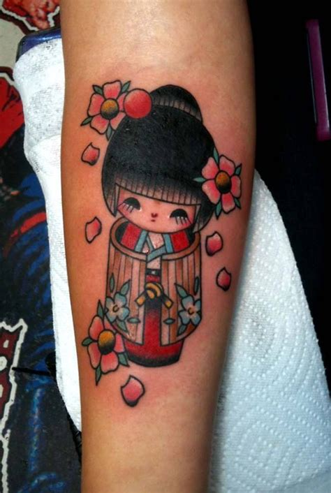 geisha doll tattoo 17 best images about kokeshi on pinterest everywhere you