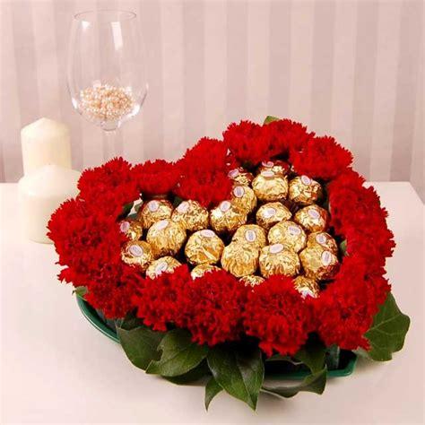 shaped flower arrangements valentines day mothers day gift shaped flower arrangement with