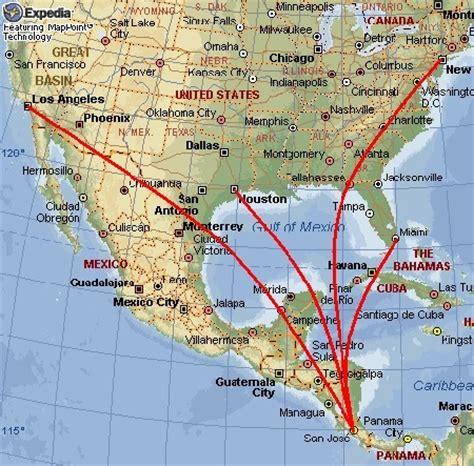 san jose flight map flights travel usa to costa rica pura vida