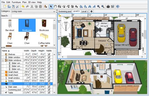 home interior designing software best and free interior design software