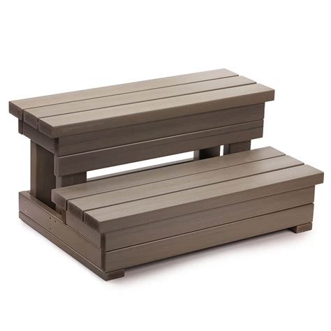 Monterey Outdoor Patio Furniture - spring 174 32 quot everwood spa steps thatcher pools and spas
