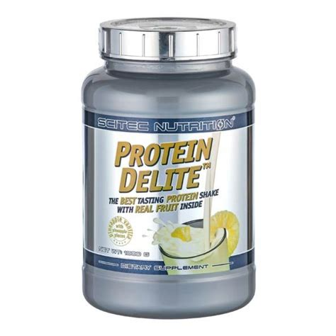 Protein Delite Scitec Nutrition 2 2 Lbs 1kg Original scitec protein delite pineapple vanilla powder a supplement
