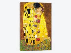 The Kiss Canvas Wall Art By Gustav Klimt Icanvas