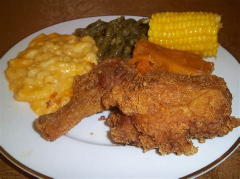 chicken meal in food soul food fried chicken dinner