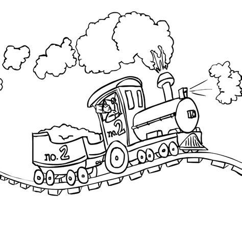 Coloriage Train A Imprimer Gratuit