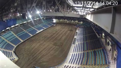 Sasktel Finder Time Lapse At Sasktel Centre Nov9 17 2014