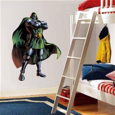 doctor doom decal removable wall sticker home decor