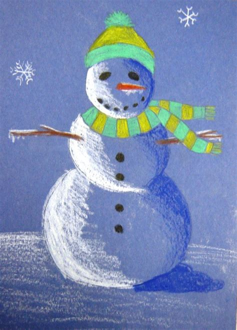 shaded snowman snowmen melt my heart pinterest construction project on and construction paper